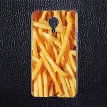 Food French Fries font b Funny b font Plastic Protective Shell Skin font b Bag b