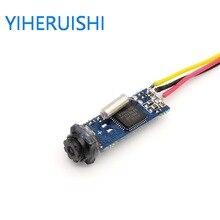 Mini 600TVL CMOS Color CCTV Camera FPV Câmera endoscópio Industrial 7x25mm