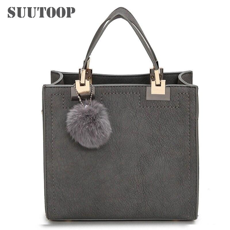 Women Bag Lady Casual Totes Feminina Luxury Designer Handbag For 2019 PU Leather Messenger Bag Over Shoulder Crossbody Sac A Mai