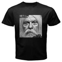 New Leon Russell Musician Legend Life Journey Men S Black T Shirt Size S To 3XL