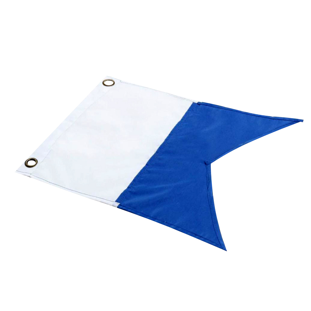 Scuba Diving Dive Boat Alpha Flag National Banner International Sign Made From Lightweight Material
