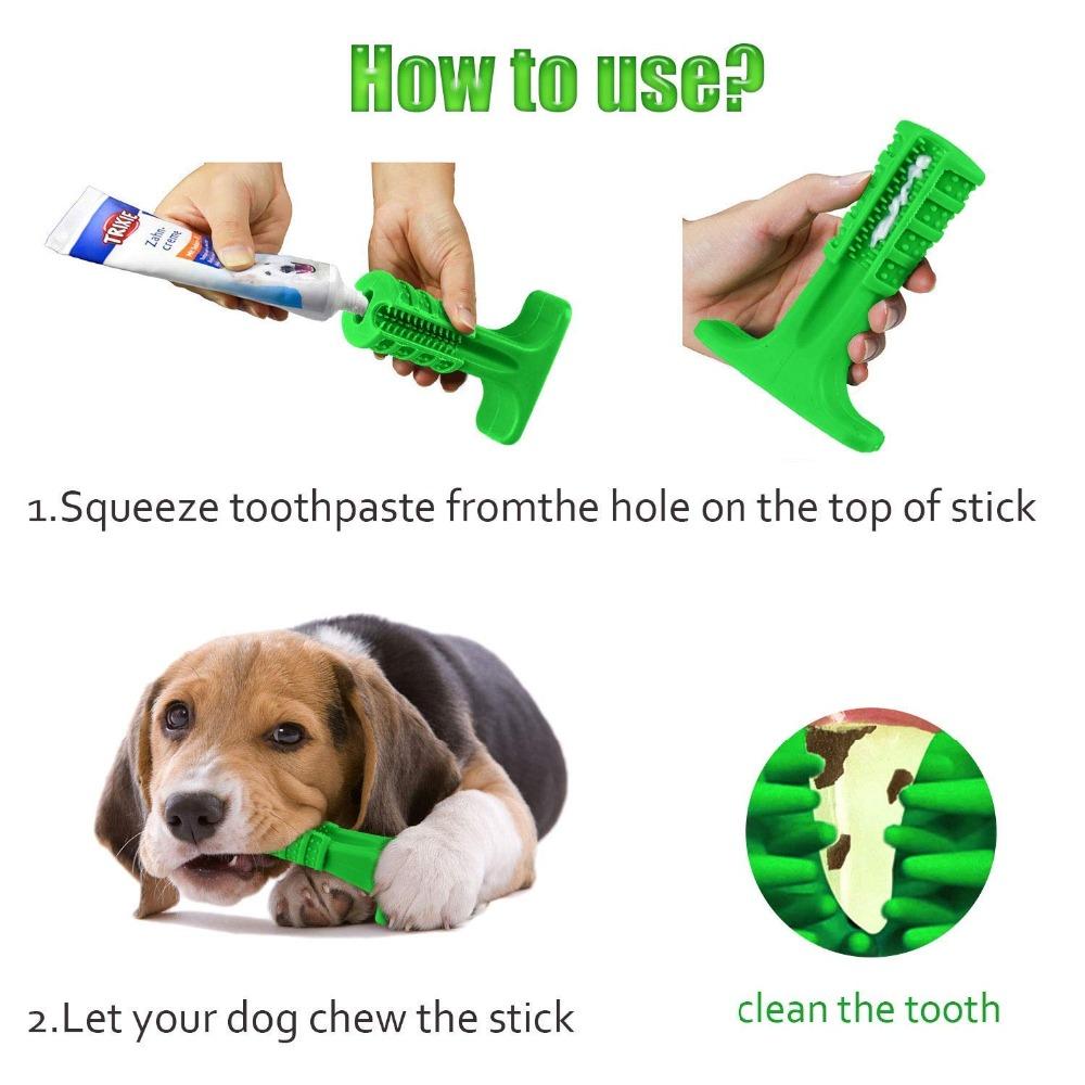 Juguete para limpiar los dientes para perro 4