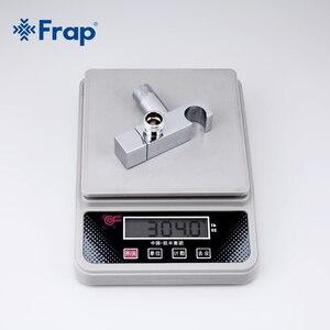 Image 5 - Frap vanne dangle simple deau froide, ensemble en laiton massif, fonction de Bidet douchette carrée à main, grue du robinet, interrupteur à 90 degrés F7502
