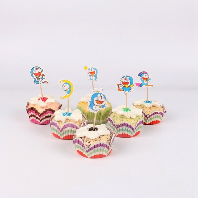 Us 108 23 Off24 Pcslot Transformers Cupcake Toppers Pilihan Dekorasi Pesta Ulang Tahun Anak Shower Anak Nikmat Kue Dekorasi Di Perlengkapan