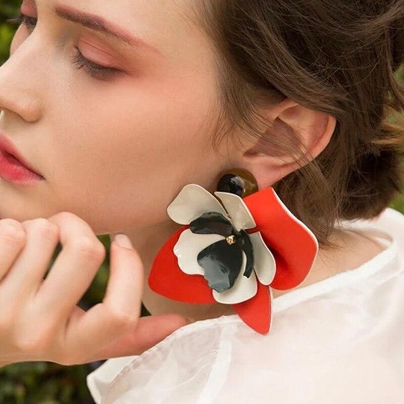 Серьги-цветы | Aliexpress