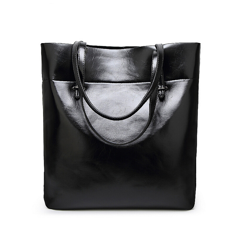 Vintage Women Big Tote Bag Premium PU Leather Female Handbag Shoulder Bag Black Brown Green Red Lady Large Shopper Bag For work venum origins bag xtra large black red