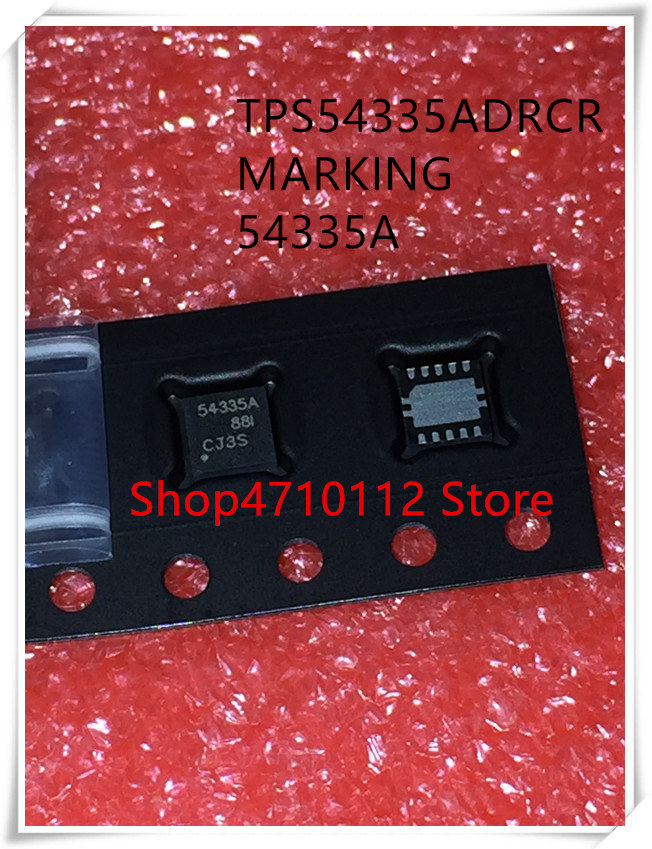 NEW 5PCS/LOT TPS54335ADRCR  TPS54335A TPS54335 MARKING 54335A SON-10 IC