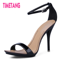 New Arrived Vogue 7Color Women T Stage Classic Dancing High Heel Sandals Party Wedding Shoes Free