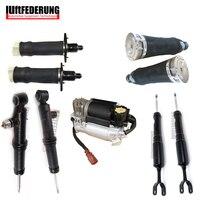 Luftfederung 9PCS Air Compressor Air Spring Damping Fit Audi A6 C5 4Z7616051A 4Z7616051B 4Z7616007 4Z7513032A 4Z7413032A