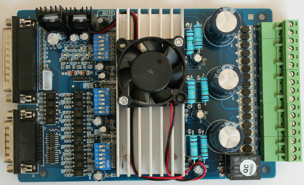 3 axis TB6560 3.5A CNC engraving machine stepper motor driver board 16 segments stepper motor controller