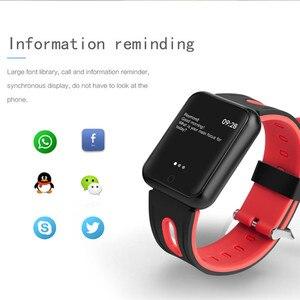 Image 4 - AMYNIKEER sporting waren uhr P68 smart watch IP68 WASSERDICHTE fitness armband tracker heart rate monitor männer frauen smart watch