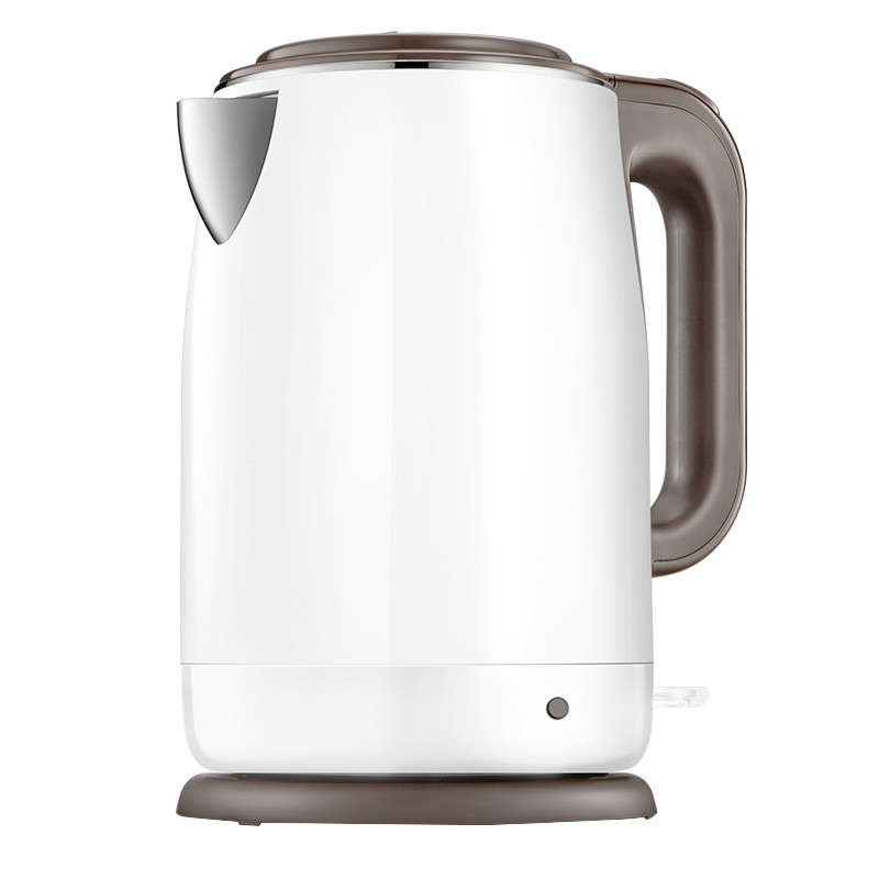 electric kettle insulated and scalding 304 stainless steel house 1.7 L Anti-dry Protection double layer insulated 1 7 l electric kettle for cooking water kettles anti dry protection