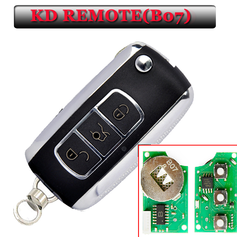Free shipping 5 pieces B07 3 Button Remote Key for URG200 KD900 KD200 with best quality