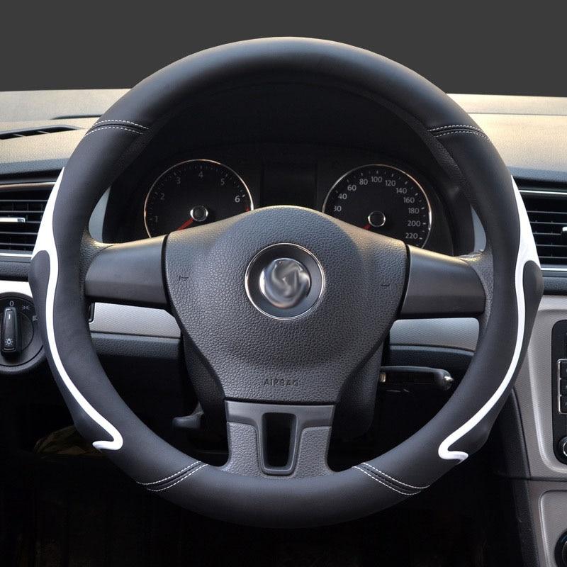 Doelbewust Stuurhoes 37 Cm/38 Cm Universele Auto Handvat Set Nieuwe Stijl Bump Anti-slip Kleur Mode Voor Bmw Ford Lada Peugeot 206 Mooi Van Kleur