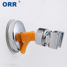 Bathroom Accessories Shower Holder Suction Cup 360 rotation Adjustable Moving Mount bracket free of punch ORR