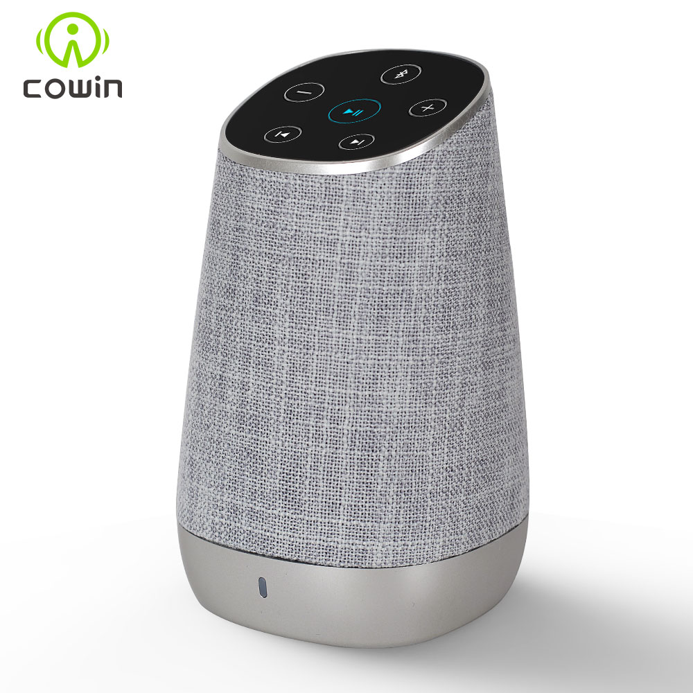 Cowin DiDa Touch Control Mini Portable Column Wireless Bluetooth Speaker With HD Sound and Enhanced Bass Hands-free LoudspeakerCowin DiDa Touch Control Mini Portable Column Wireless Bluetooth Speaker With HD Sound and Enhanced Bass Hands-free Loudspeaker