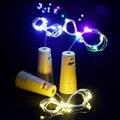 + Na Venda Barato + 1 M 2 M de Cortiça Rolha de Garrafa de Vinho De Vidro LED Luzes Cordas de Fadas do Dia Das Bruxas Natal Xmas Party Lamp Lampada