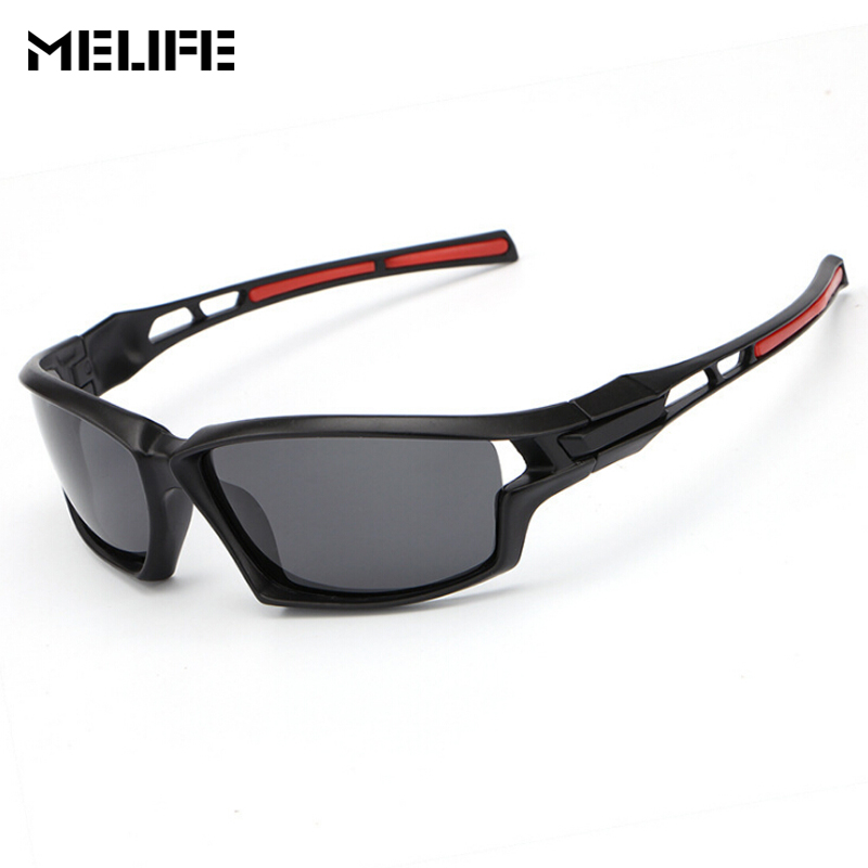 MELIFE Polarized Skiing Sunglasses Men Square Sport Sun Glasses Outdoor Sport Mountain Bicycle Women UV400 Motocross Goggles
