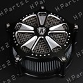 New Air Cleaner Intake Filter System for Harley Softail Touring FLHR 07 Parts