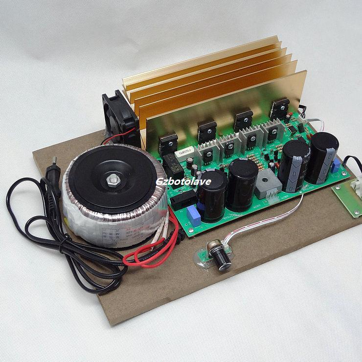 High power 500W BTL circuit, heavy bass power amplifier DJ board pure bass Mono power amplifierboard цена