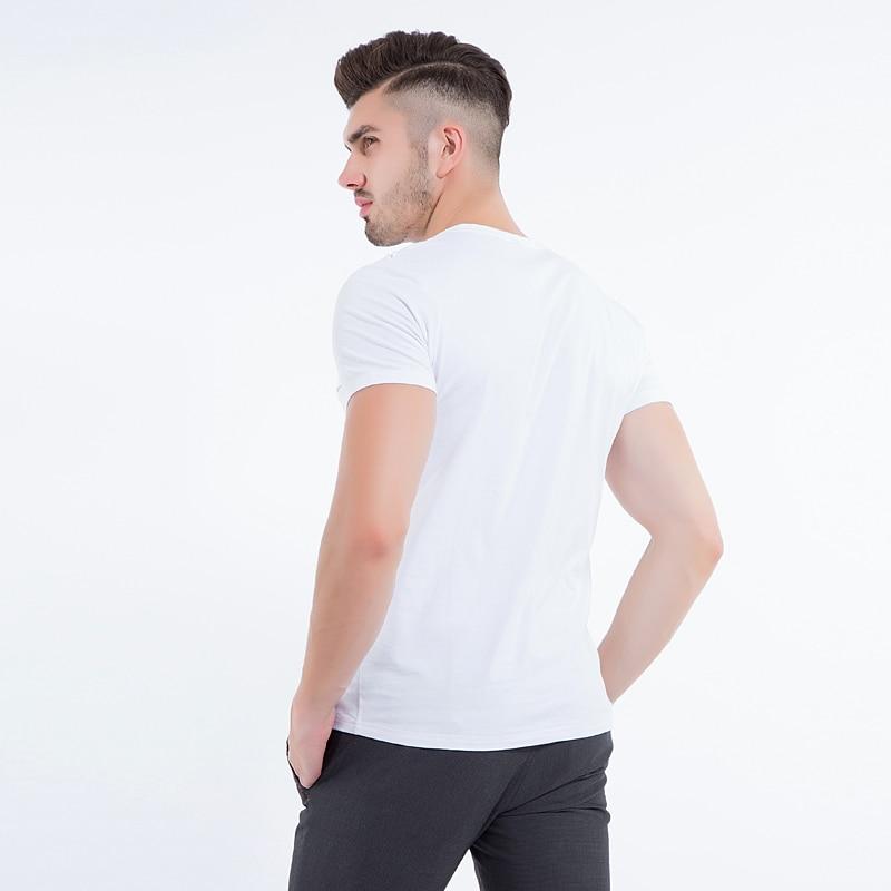 Liseaven Mens Tops & Tees V ყდის პერანგი - კაცის ტანსაცმელი - ფოტო 6