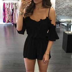 2017 new women office rompers summer elegant jumpsuit female work rompers girls chic casual short playsuits.jpg 250x250