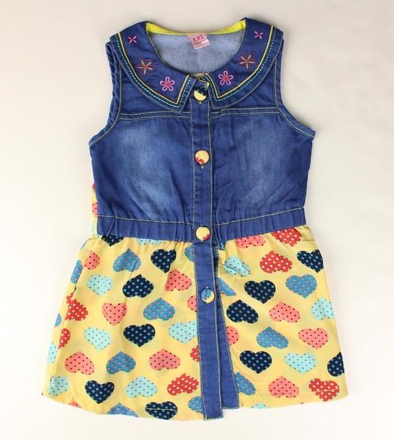 Baby Tunics Denim Sundresses Children Jean Dress Monsoon Cute