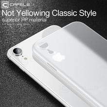 hot deal buy cafele plastic hard case for iphone xs/ xr/ xs max anti scratch ultra-thin 0.3mm plastic case cover for iphone xs/ xr/ xs max