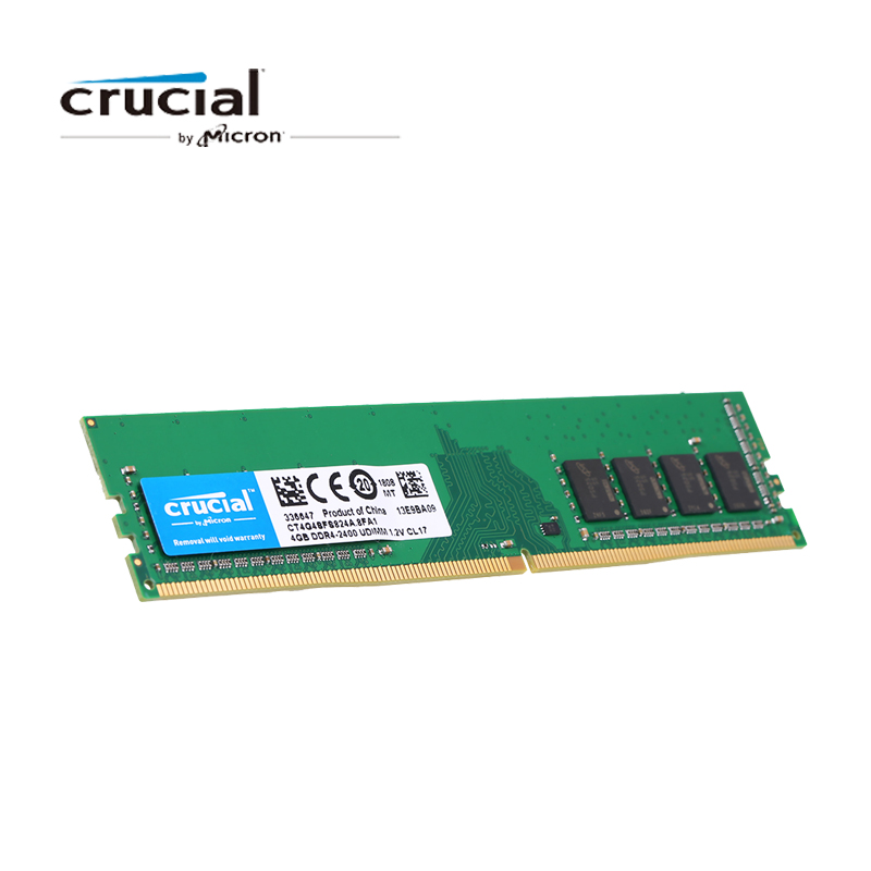 Crucial Memory RAM DDR4 4GB 8GB RAMs 2400MHz MT s CL17 1 2V PC4 19200 UDIMM