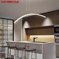 Скандинавское освещение, современный светодиодный подвесной светильник для кухни, столовой, люстра, подвесной потолочный светильник, деко...