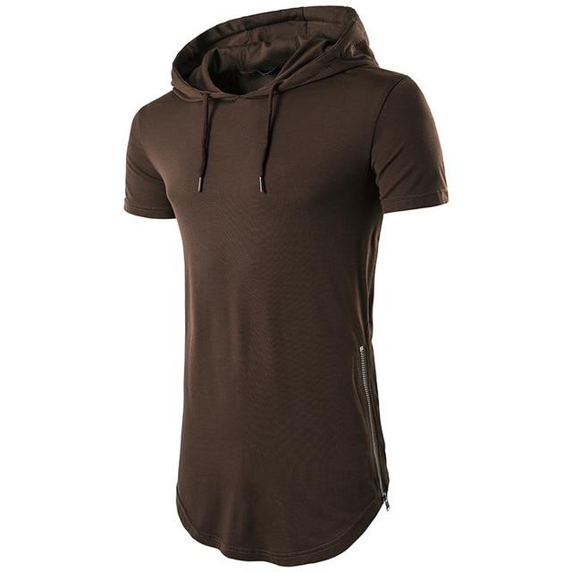 Nuova Estate Mens T-Camicette Patchwork di Colore Nero di Marca Abbigliamento uomo Manica Corta Sottile T Camicette Maschio Magliette e camicette magliette Più Il Formato
