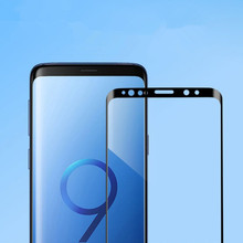 9D Full Curved Tempered Glass For Samsung Galaxy S10 S9 Plus Note 8 9 Screen Protector For Samsung S6 S8 S7 Plus Protective Film все цены