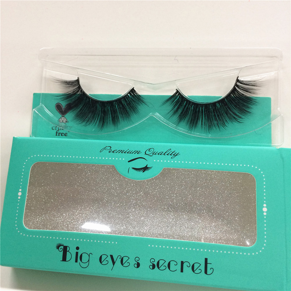 Package Customized 3D Mink Eyelashes Extension Can Choose Boxes Color Makeup Logo Customized False Eyelash Free Shipping