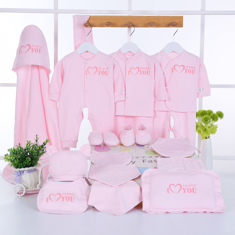 Emotion Moms Newborn Baby Clothing Set Brand Baby Boy/Girl Clothes Set 100% Cotton New Born Baby Clothes Underwear 22PCS/set