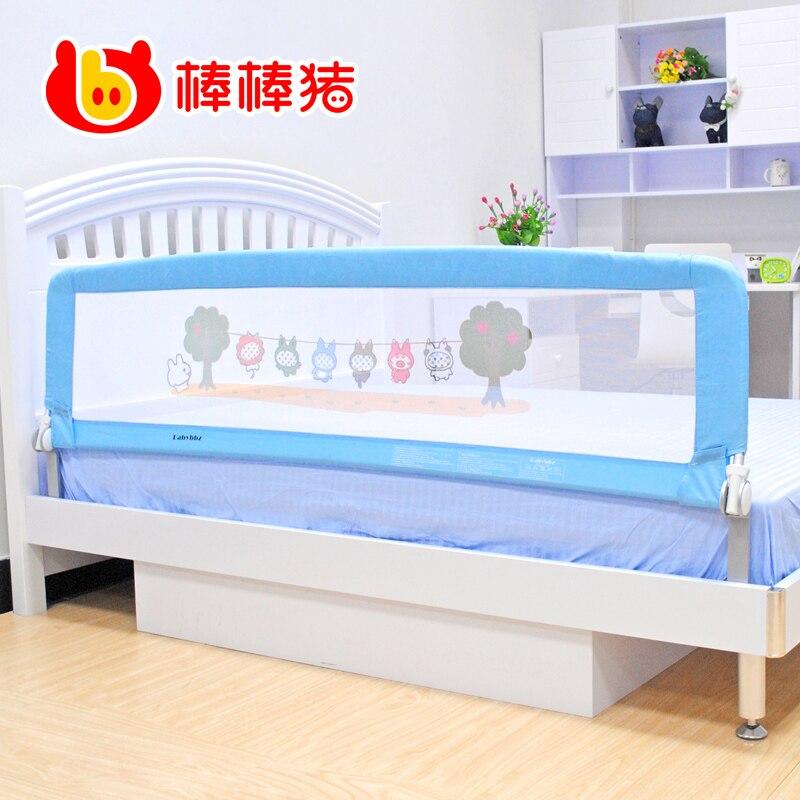 Aleaci n de aluminio pig cama barandilla barandilla beb cama ni o barandillas de seguridad cama - Barandillas seguridad ninos ...