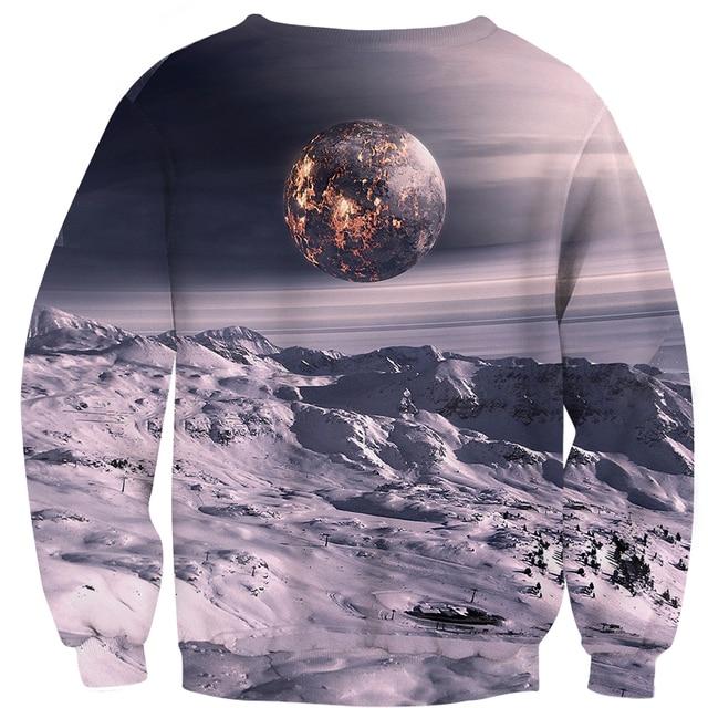 Space Themed sweatshirts Men Hoodies  3