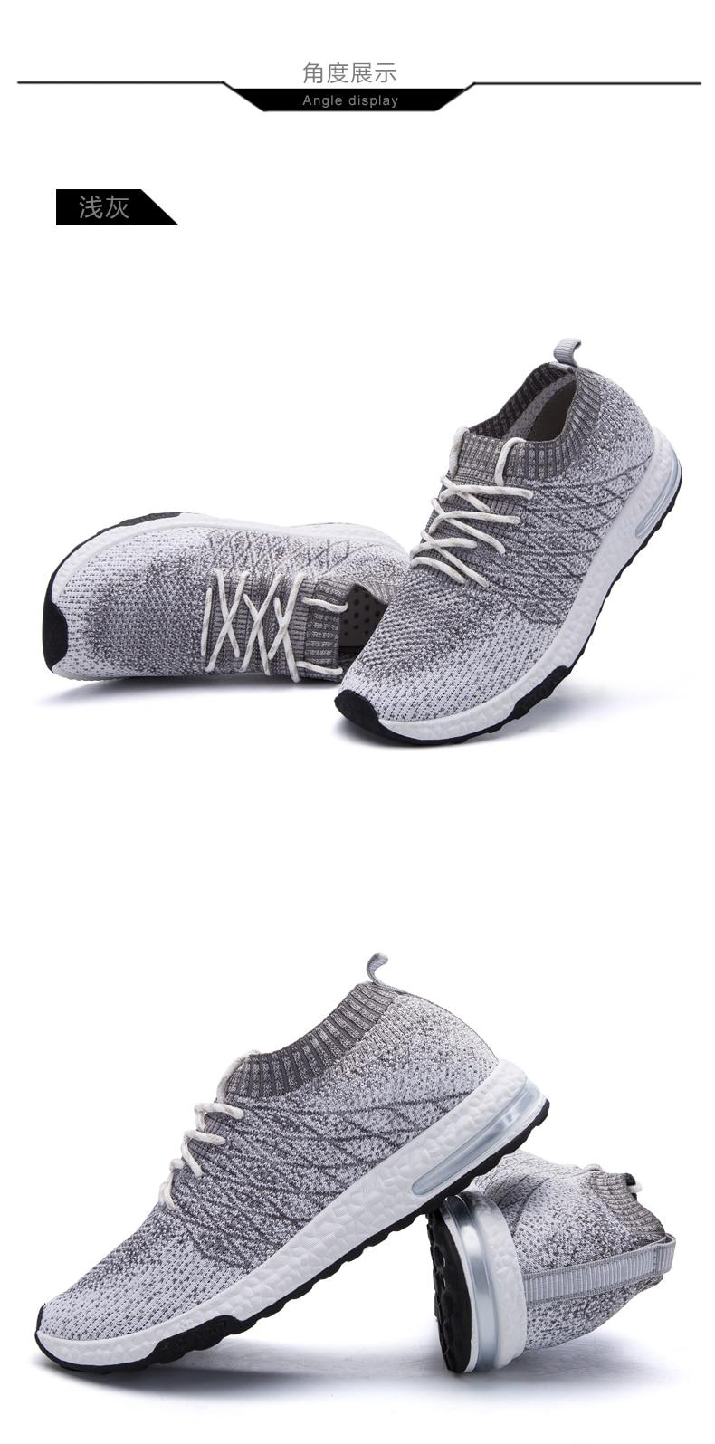 HTB1dnfPPhTpK1RjSZR0q6zEwXXaW Men Shoes Beathable Air Mesh Men Casual Shoes Slip on Fall Sock Shoes Men Sneakers Tenis Masculino Adulto Plus Size 46