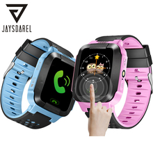 JAYSDAREL Q528 Y21 Kids GPS Tracker SOS Call Safe Smart Watch Child Baby Location Device Remote Monitor PK Q50 Q90 gm11 gps smart baby watch children kids sim camera sos call tracker anti lost monitor alarm clock smartwatch pk q528 y21 q50 q90