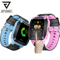 JAYSDAREL Q528 Y21 Kids GPS Tracker SOS Call Safe Smart Watch Camera Child Baby Location Device