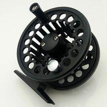 metal fly fishing reel black flying reels 3/4 5/6 7/8 ice ratio 1:1 BB 2+1 fishing wheel цена