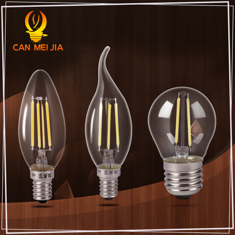 buy glass led filament bulb home lighting ampoule c35 led e14 candle energy. Black Bedroom Furniture Sets. Home Design Ideas