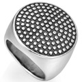 Men Retro Vintage Size 7 to 15 Stainless Steel Ring Cocktail Biker Hiphop Punk Party Husband Father Birthday Gifts