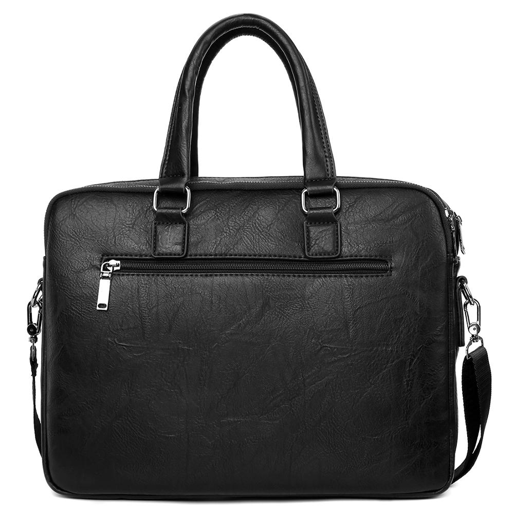 Vicuña POLO bolso de cuero de gran capacidad para hombre, bolso clásico para oficina de negocios, bolso de hombro para hombre, bolso para hombre, nueva llegada - 2