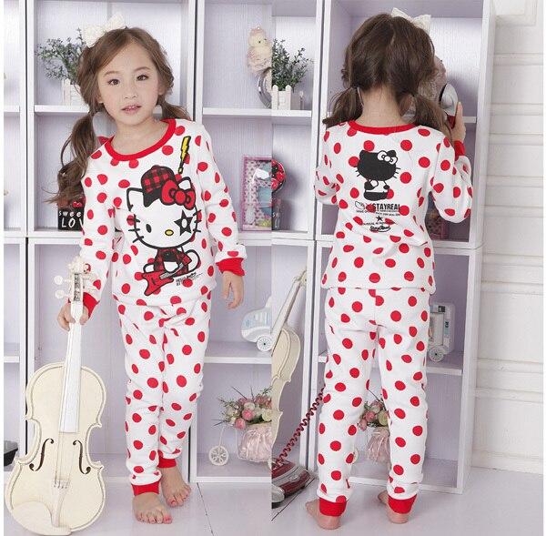 253c3a2fa960 Envío Gratis pijamas de hello kitty para niños/niñas, pijamas de invierno para  niñas, pijamas cálidos, ropa de dormir, térmica conjunto de pijamas en Sets  ...