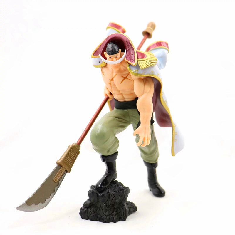 ONE PIECE New World Four Emperors Edward Newgate Standing posture PVC Action Figure Collectible Model Toy Boxed New years giftsONE PIECE New World Four Emperors Edward Newgate Standing posture PVC Action Figure Collectible Model Toy Boxed New years gifts