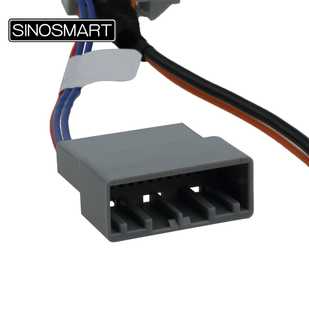 Sinosmart C24d A Reversing Camera Connection Cable For Honda Shuttle Wiring Diagram Parkingcamerasukcom Accord 24 Etc Oem Monitor Without Damaging The Car In Vehicle From