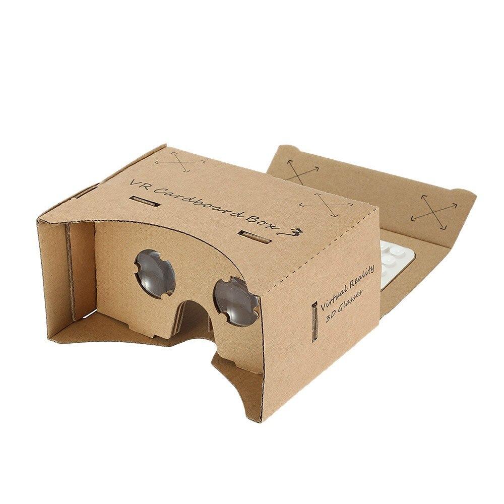 <font><b>Private</b></font> <font><b>DIY</b></font> <font><b>Cardboard</b></font> <font><b>Box</b></font> <font><b>Virtual</b></font> <font><b>Reality</b></font> <font><b>Headset</b></font> 3D VR Glasses 3D Movie Games Head-Mounted Universal for Smart Phones