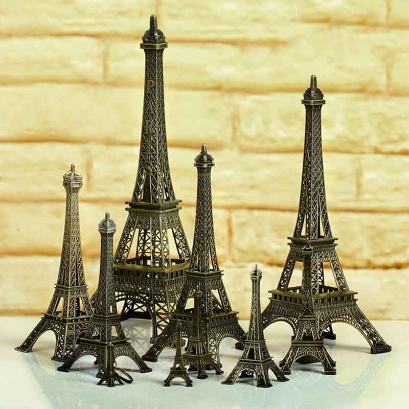 Online Eiffel Tower Home Decor Accessories Resin Statue