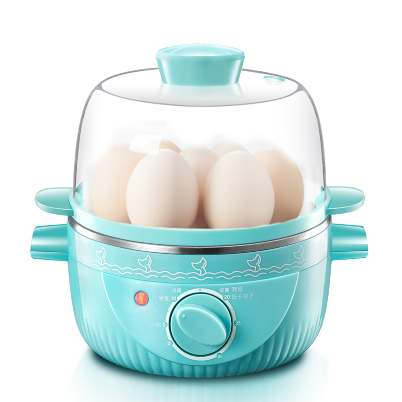 Stainless steel multifunctional predetermined egg boilers steamed egg custard automatically off power free shipping multifunctional stainless steel eggboilers mini egg and egg machine automatic power off single genuine