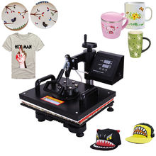 Ferro De Passar Roupa Ropa Beesteam Keeping 5 In 1 Heat Press Machine Digital Transfer Sublimation T-shirt Mug Cap Plate Rushed